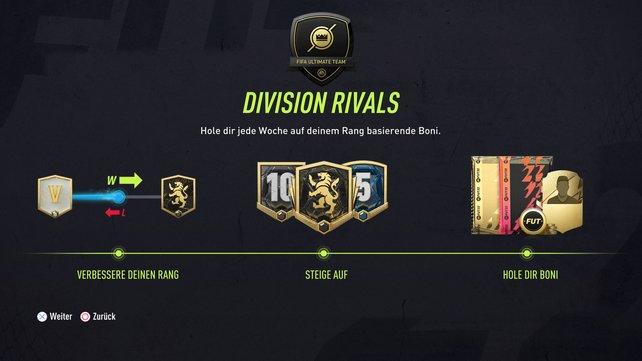 Alles neu: Die Division Rivals erfahren in FIFA 22 ordentlich viele Neuerungen.