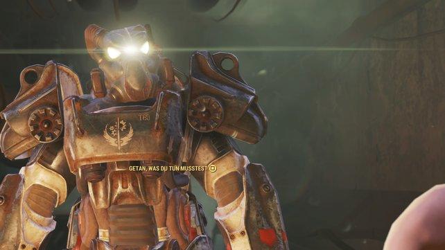 Die X-01. Leider nur der Helm