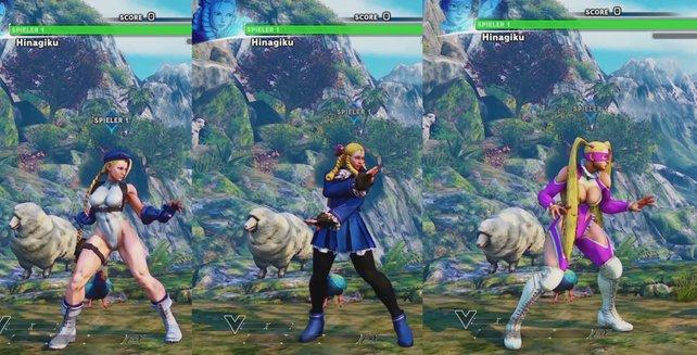 Street Fighter 5: Weiß, Blau oder lieber Pink? Ihr entscheidet!