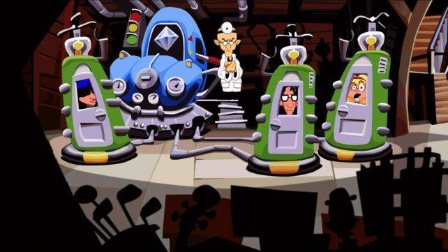 Die Remastered-Version von Day of the Tentacle entzückt mit einem schönen HD-Look.