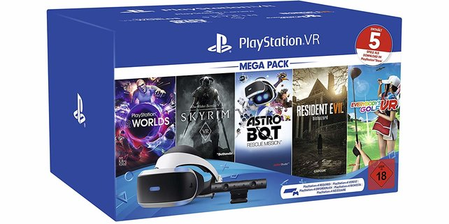 Zurzeit gibt es mehrere PS4-VR-Bundles, bei denen ihr fast 100 Euro sparen könnt.