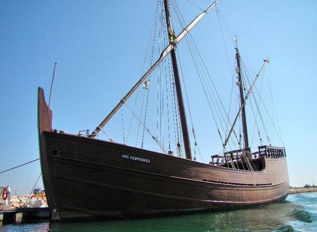 Ungefähr so sahen die portugiesischen Schiffe aus, die den Kartenkult nach Japan brachten.