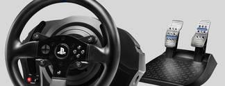 Neues Thrustmaster-Lenkrad T300 RS für PS4 im Kurztest