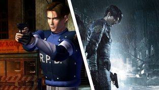 Resident Evil 2: Vorher/Nachher