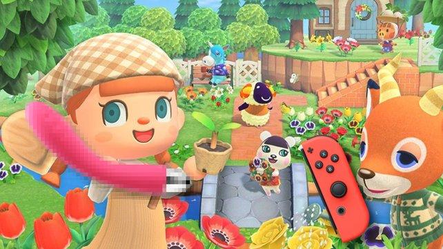 Das unschuldige Spiel Animal Crossing: New Horizons erhält eine neue Art von JOY-Cons.