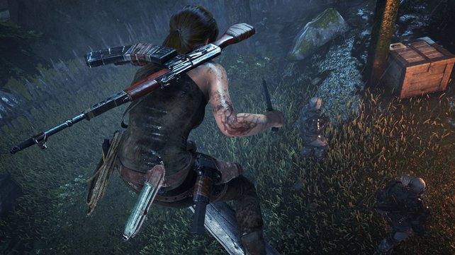 Das Croft-Abenteuer ist auf PS4 nicht unbedingt besser als auf den anderen Plattformen, in jedem Fall aber umfangreicher.