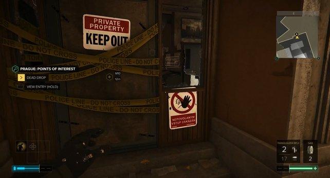 Hier ist euer Eingang zum Informationszentrum.