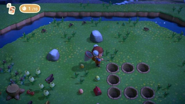 Auf der Vogelspinnen-Insel spawnen gleich vier Stück auf einmal. Ja, sie ist kein Mythos!