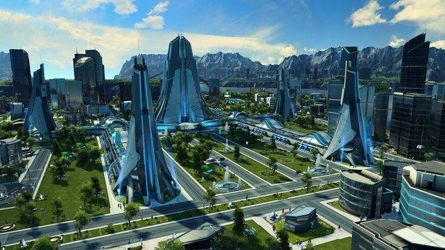 Im Aufbauspiel Anno 2205 steigt ihr mit eurem Konzern zur globalen Supermacht auf.