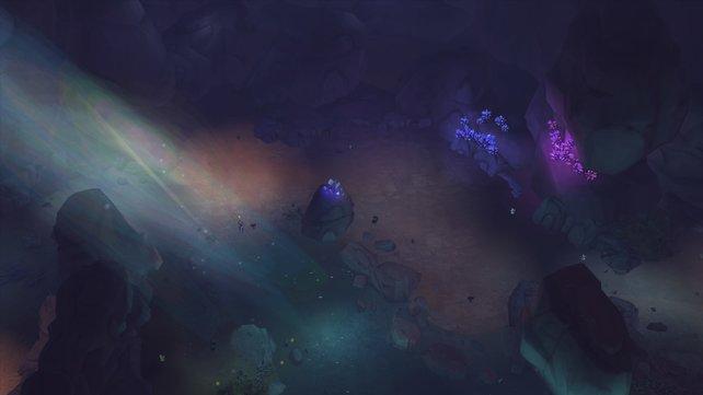 Die vergessene Grotte sieht keinesfalls verwahrlost aus. Sie ist ein wunderschöner Rückzugsort für euren Sim.