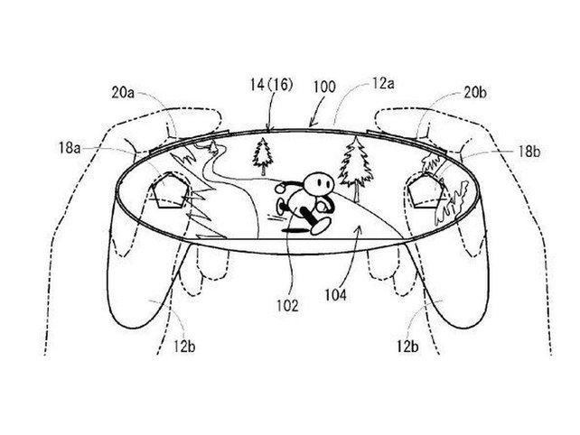 Konzept-Design,für das Nintendo Patent angemeldet hat.