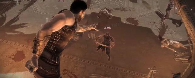Prince of Persia Redemption bietet beeindruckende Kampf- und Actionszenen.