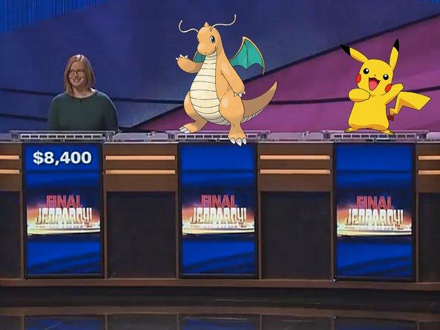 Jeopardy: Die Kandidaten waren wohl etwas überfordert mit den Fragen und konnten nicht alle beantworten.
