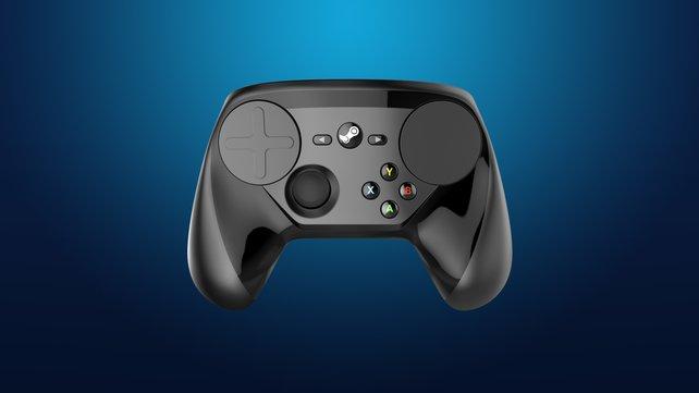 Neben Touchpads besitzt der Steam Controller alle nötigen Action- und Schultertasten.