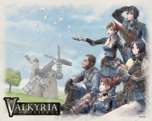 Steampunk auf Japanisch: Valkyria Chronicles