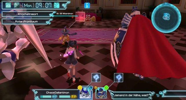 Wizardmon ist der Schlüssel zum schnellen Geld in Digimon World - Next Order.