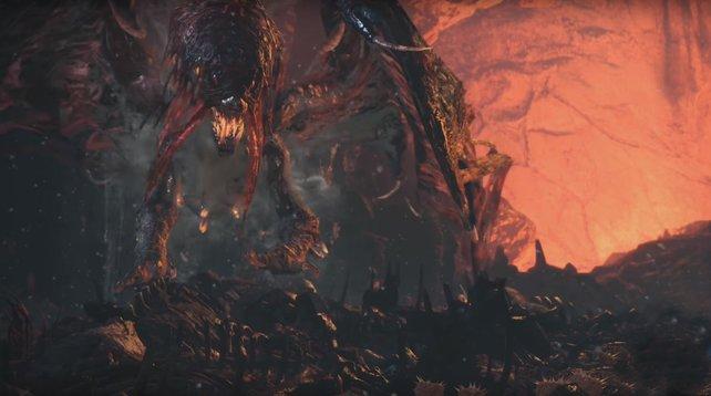 Der Vaal Hazak ist nicht nur eklig, sondern auch giftig. Also ein perfekter Bosskampf in Monster Hunter World.