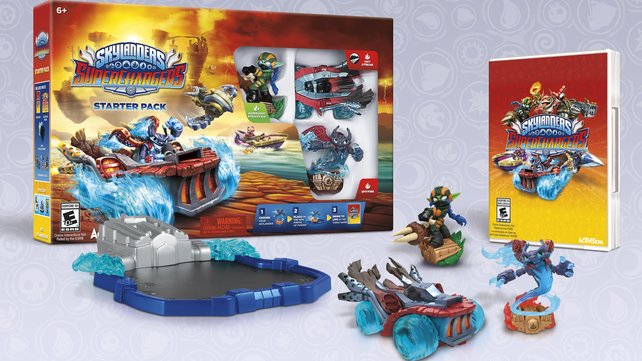 Mit dem Starter Pack nebst Portal, zwei Statuen und Fahrzeug könnt ihr das Spiel komplett durchspielen.
