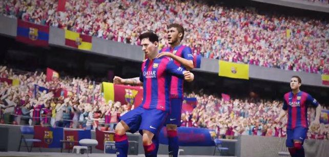 Messi und Neymar, besser gehts nicht!
