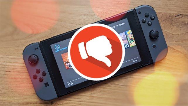 Die Switch bietet zwar viele geniale Spiele für Nintendo-Spieler, doch im eShop gibt es auch viel Mist. (Bild: GIGA / Getty Images – dikobraziy)