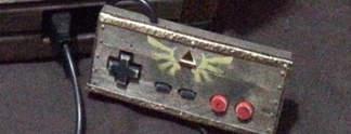 Das NES in Form einer selbstgemachten Zelda-Kiste