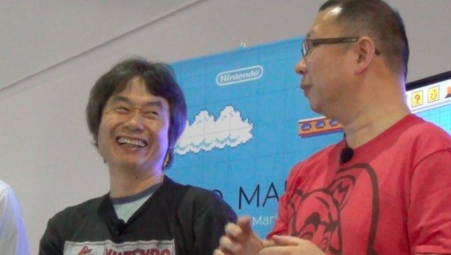 Miyamoto und Tezuka sind noch heute das Traumteam, wenn es um das Thema Mario geht.