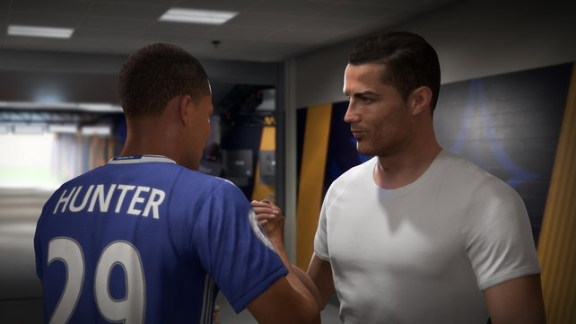 Ronaldo ist mit dabei: Spielt Alex Hunter im Story-Modus bald mit seinem Idol zusammen?