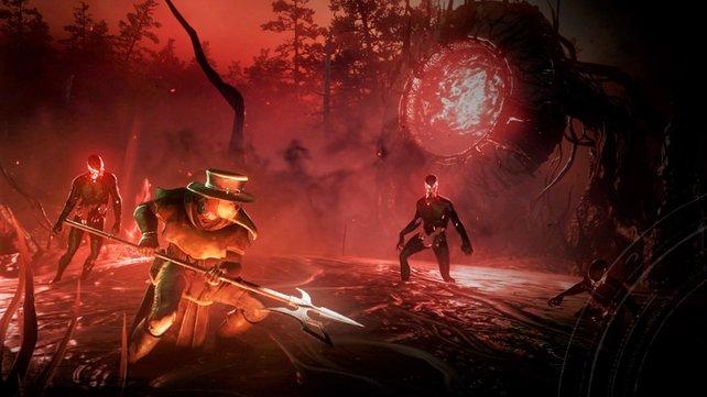 Mit dem Azoth-Stab könnt ihr die Verderbnis bekämpfen.