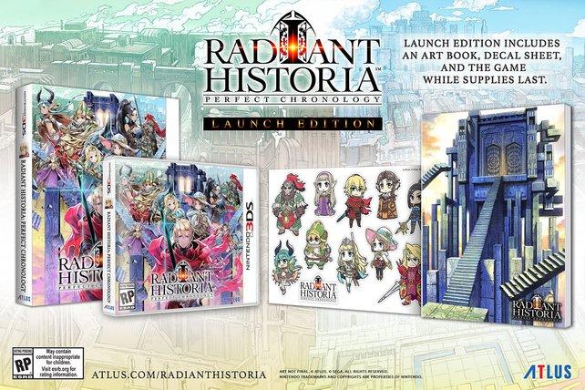 Von DS auf 3DS: Radiant Historia - Perfect Chronology. Remakes funktionieren auch auf 3DS hervorragend.