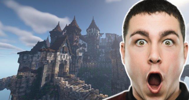 Minecraft-Spieler bewundern meisterhafte Arbeit. Bild: Mojang / Getty Images - SensorSpot