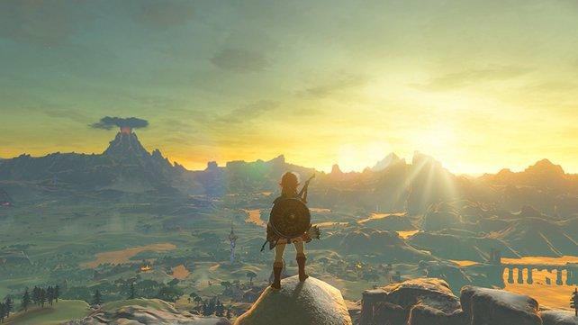 """Diese tolle Aussicht hat ein Fan in einen selbstgemalten """"A Link to the Past""""-Screenshot verwandelt."""