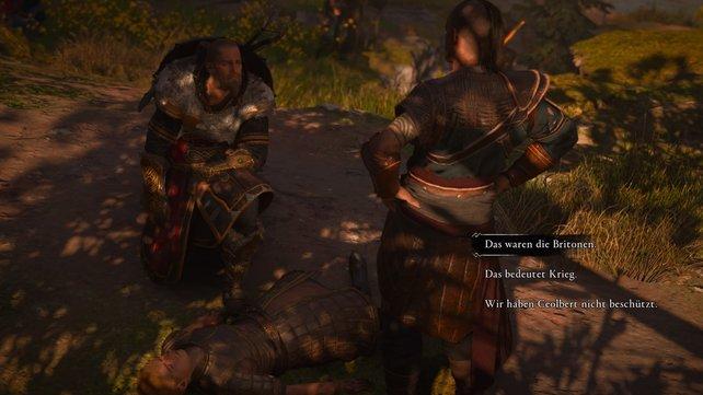 Mit Ceolberts Tod erscheint jeglicher Frieden hinfällig zu sein. Ivar verlangt es nach Blut und auch Eivor kocht vor Wut.