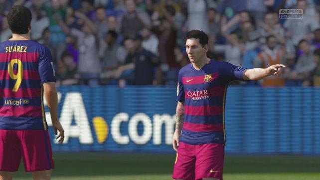 Stürmer wie Suarez und Lionel Messi sorgen für Gefahr im Strafraum eures Gegners.