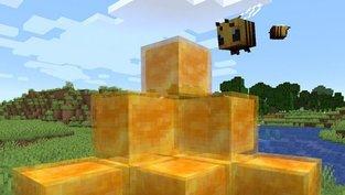 Spieler surfen und machen Tricks auf Honigblöcken