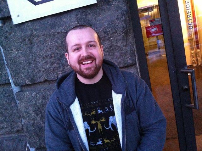 Ubisoft-Entwickler Clark Davies beantwortet in Berlin Fragen zu seinem Spiel.