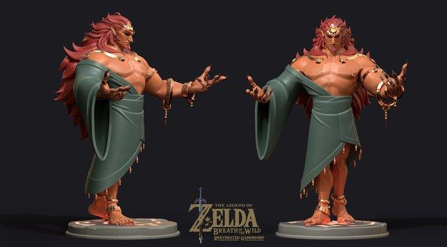 Zelda Breath Of The Wild 2 So Konnte Ganondorf In Menschlicher Gestalt Aussehen Panorama