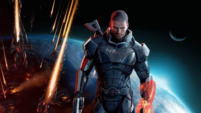 """Von 2007 bis 2017 retten die Spieler die Menschheit in vier """"Mass Effect""""-Teilen. Etwas zu vorbildlich, in den Augen des Entwicklers."""