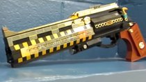 So sehen die Waffen mit Lego aus