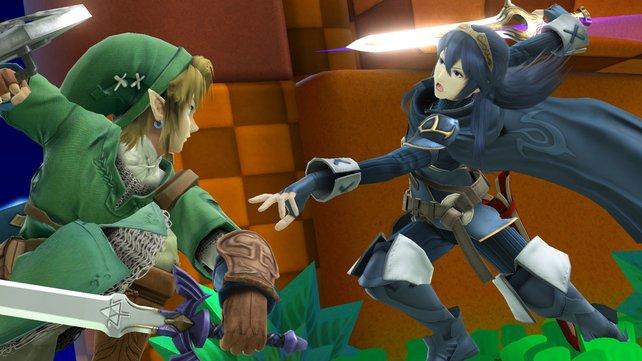 In Super Smash Bros. bekämpft ihr euch mit Charakteren, die sich sonst nie über den Weg laufen.