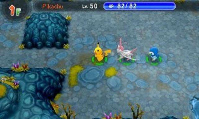 Ob Pikachu auch gerade auf der Suche nach den legendären Schätzen ist?