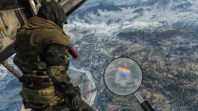 In Warzone ist der Pride Month mehr eine Alibi-Aktion als echte Unterstützung. (Bild: Activision)