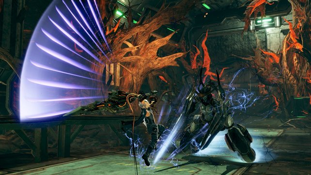 Kaum ein Jagdspiel bietet so flotte Kämpfe wie God Eater.