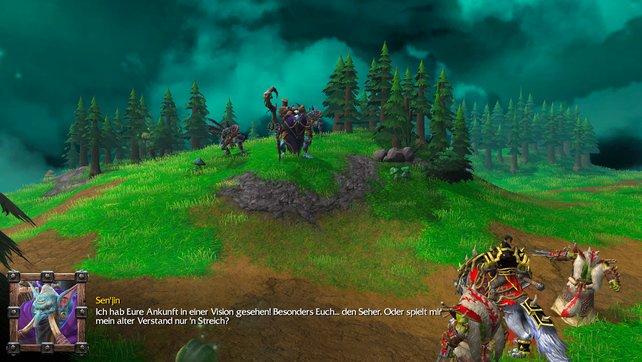 In den Kampagnen lernt ihr nicht nur die Mechaniken des Spiels kennen, ihr erlebt zudem eine überaus spannende und tragische Geschichte, welche die Basis für World of Warcraft legte.