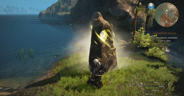 So sehen die Orte der Macht in The Witcher 3 aus.