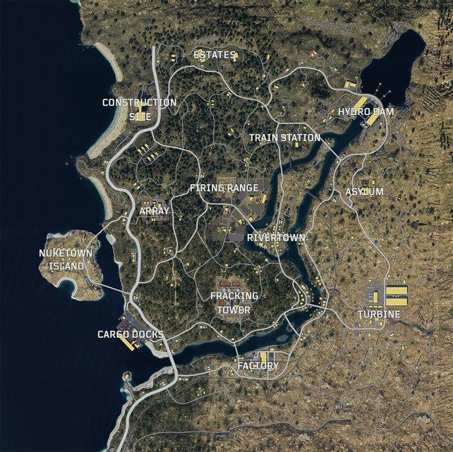So wird die Blackout-Karte aussehen.