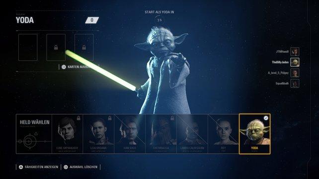 Wen wählt ihr bei SW: Battlefront 2? Helden oder Schurken?