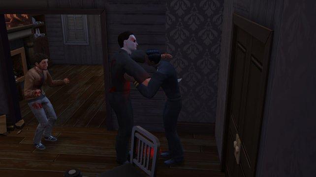 In Sinans Version von Die Sims 4 verliebt sich ein Serienkiller in eines seiner Opfer. Wie ... ähm ... rührend!
