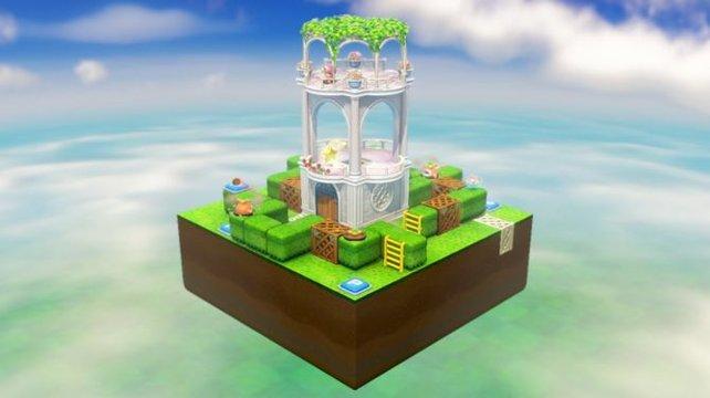 Von den mickrigen Blocklevels aus Super Mario 3D World ist nichts mehr übrig. Selbst die engsten bieten noch viel mehr Freiheit.