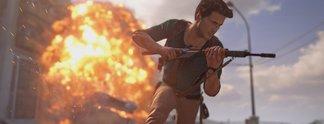 Uncharted: Nathan Drake wurde im Gameplay nie von einer einzigen Kugel getroffen