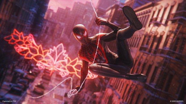 Spider-Man schwingt wieder: Noch dieses Jahr geht es für Miles Morales auf der PlayStation 5 los.
